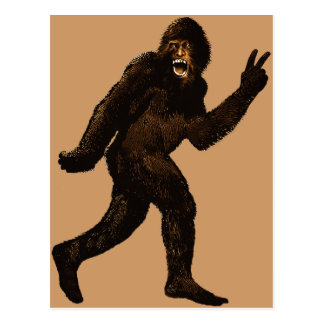 Signo de la paz de Bigfoot Postal