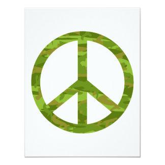 Signo de la paz de Camo Comunicados Personales