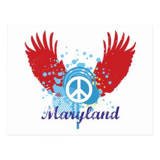 Signo de la paz de Maryland Postal