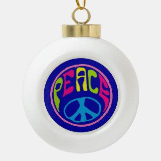 Signo de la paz del Hippie Adornos