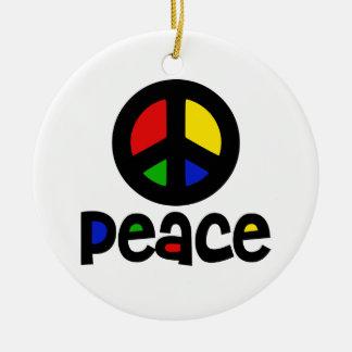 Signo de la paz del Hippie Adorno De Reyes