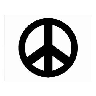 Signo de la paz del símbolo de paz