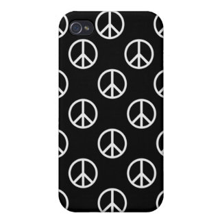 Signo de la paz iPhone 4 cobertura