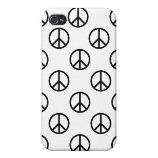Signo de la paz iPhone 4 carcasas