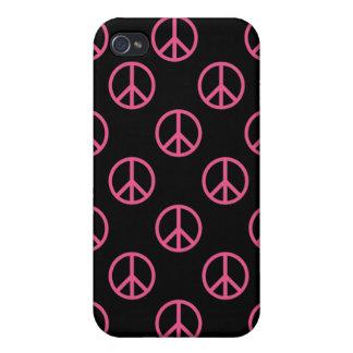 Signo de la paz iPhone 4 carcasa