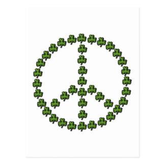 Signo de la paz irlandés postal