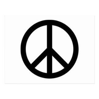 Signo de la paz postales