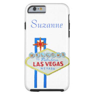 Signo positivo de Las Vegas para los teléfonos Funda De iPhone 6 Tough