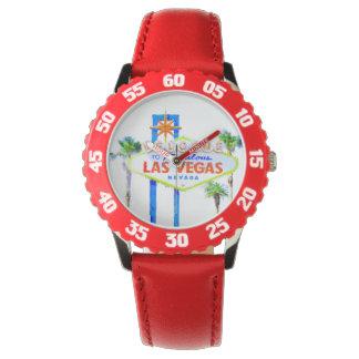 Signo positivo de Las Vegas Relojes De Mano