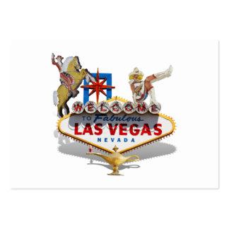 Signo positivo de Las Vegas Tarjetas De Visita Grandes