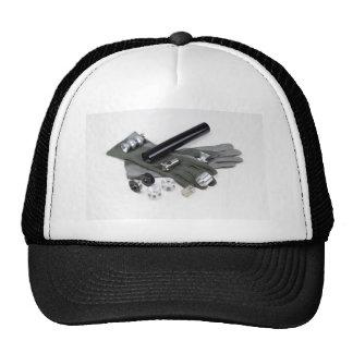 Silenciador del supresor del arma de fuego con los gorras
