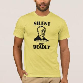 Silencioso pero muerto camiseta