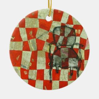Silla 6 adorno de navidad