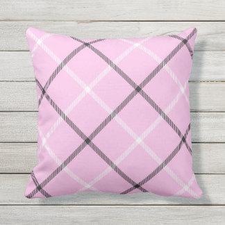 Silla de cubierta rosada del patio del modelo de cojín de exterior