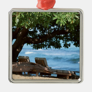 Silla de playa 2 ornaments para arbol de navidad