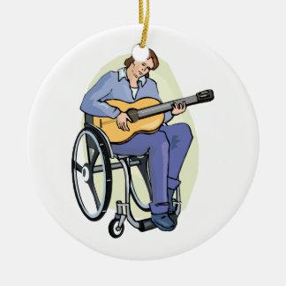 silla de ruedas graphic.png del guitarrista ornamentos de reyes
