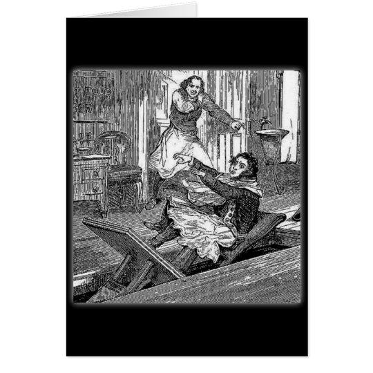 Silla-Penique de los Todd-Peluqueros de Sweeney Tarjeta De Felicitación