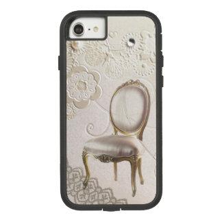 silla rococó París de la lámpara femenina Funda Tough Extreme De Case-Mate Para iPhone 8/7