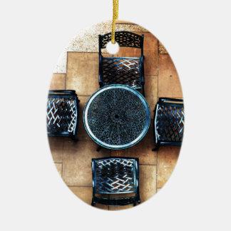 Sillas de jardín ornamento para reyes magos