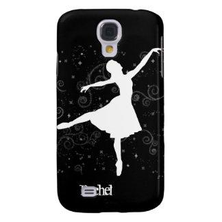 Silueta de la bailarina en iPhone3G negro