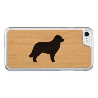 Silueta de Leonberger Funda Para iPhone 7