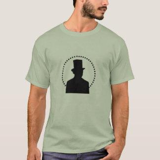 Silueta de Lincoln Camiseta