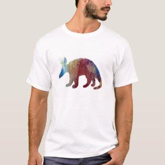 Silueta del Aardvark Camiseta