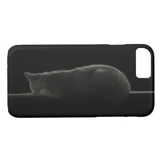 Silueta del gato funda iPhone 7