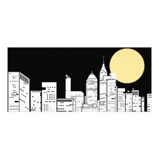 Silueta del horizonte de Nueva York Lonas Publicitarias