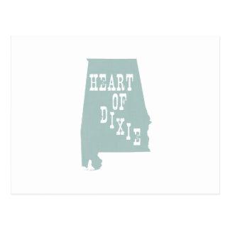 Silueta del lema del lema de Alabama Postal