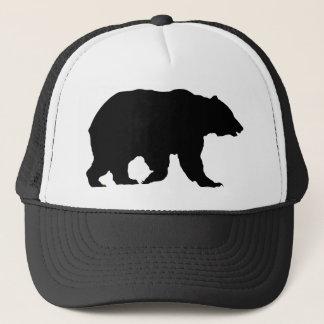 Silueta del oso grizzly del gorra del oso