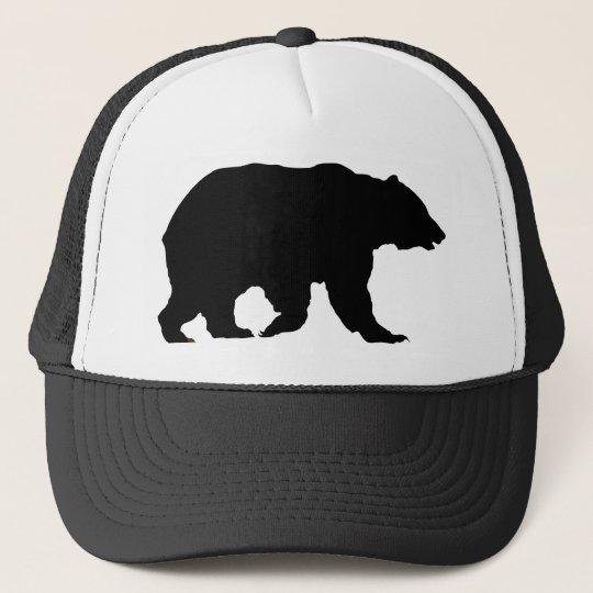 Silueta del oso grizzly del gorra del oso  8d0f9df7ff7