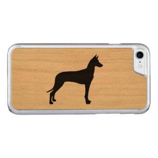 Silueta del perro del Pharaoh Funda Para iPhone 8/7 De Carved