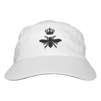 Silueta elegante de la abeja reina del vintage gorra de alto rendimiento