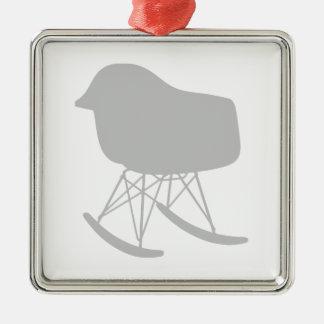 Silueta gris de la silla del modelo de los mediado ornamento para reyes magos