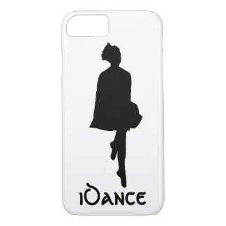 silueta irlandesa del bailarín del iDance Funda iPhone 7