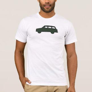 Silueta - verde del olmo camiseta
