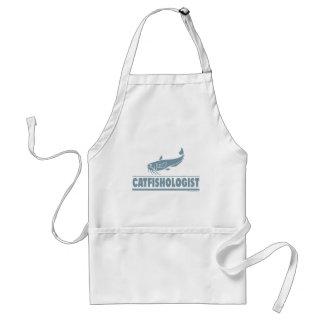 Siluro - ologist - pesca, cocinando delantal