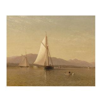 Silva de Francisco Augustus - el Hudson en Tappan Impresión En Madera