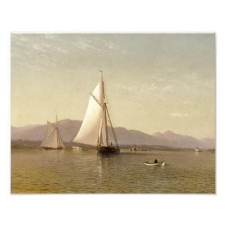 Silva de Francisco Augustus - el Hudson en Tappan Impresion Fotografica