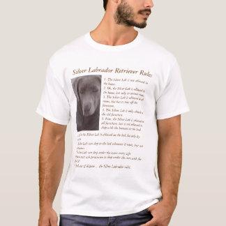 Silver Labrador Retriever Rules Camiseta