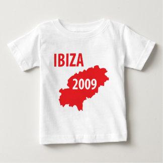 Símbolo 2009 de Ibiza Camiseta De Bebé
