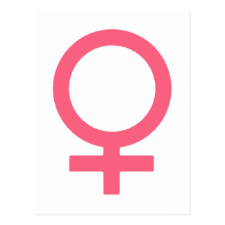 Símbolo agridulce fresco de Venus Postal