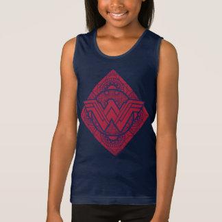 Símbolo amazónico de la Mujer Maravilla Camiseta De Tirantes