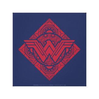 Símbolo amazónico de la Mujer Maravilla Impresión En Lienzo