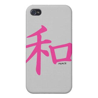 "símbolo chino de la ""paz"" del iPhone 4/4S iPhone 4 Coberturas"