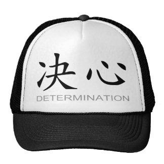 Símbolo chino para la determinación gorro de camionero