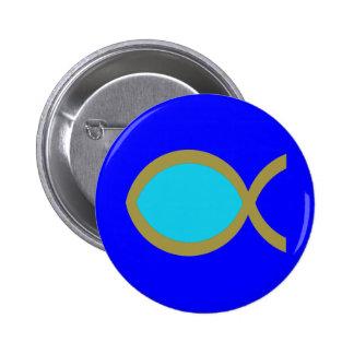 Símbolo cristiano de los pescados pins
