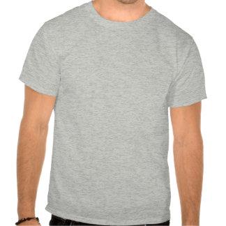 Símbolo cristiano de los pescados del roble de camisetas