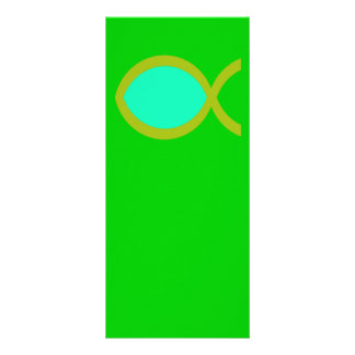 Símbolo cristiano de los pescados tarjeta publicitaria personalizada